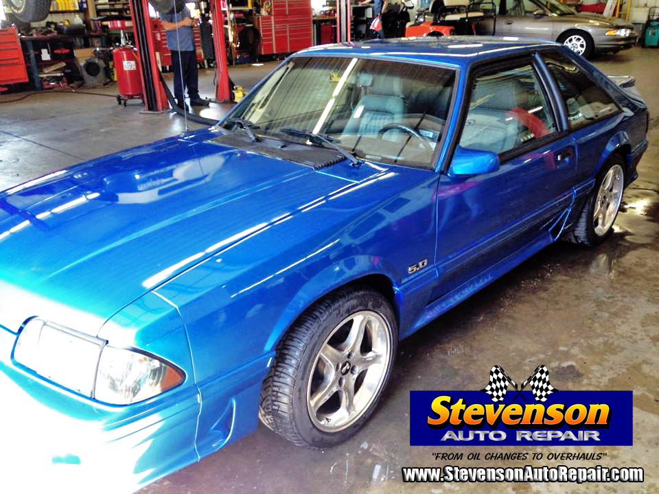 Ford Mustang fox body performance upgrade