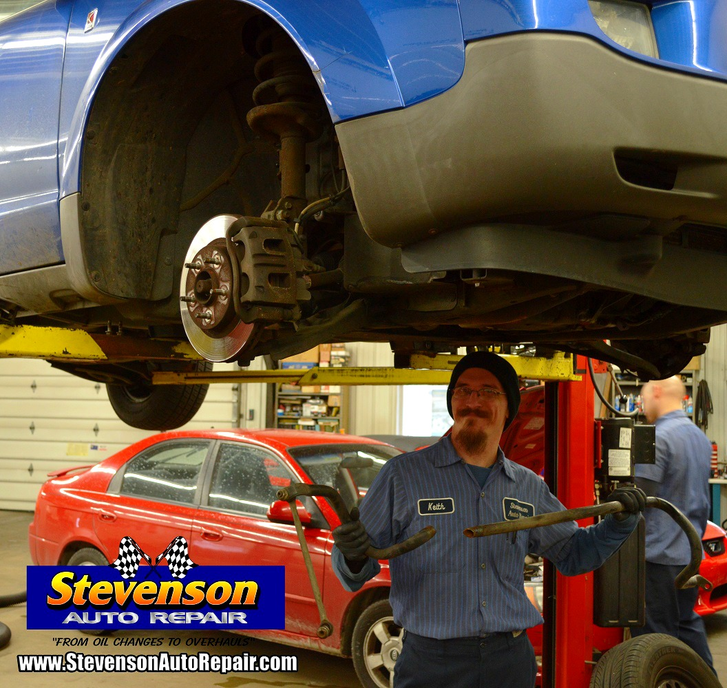 broken sway bar auto repair shop in Kankakee IL Bourbonnais and Bradley