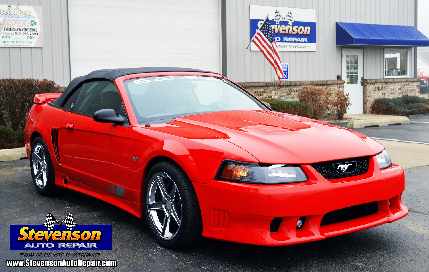 Mustang Saleen SC281 auto repair shop in Kankakee IL Bourbonnais and Bradley