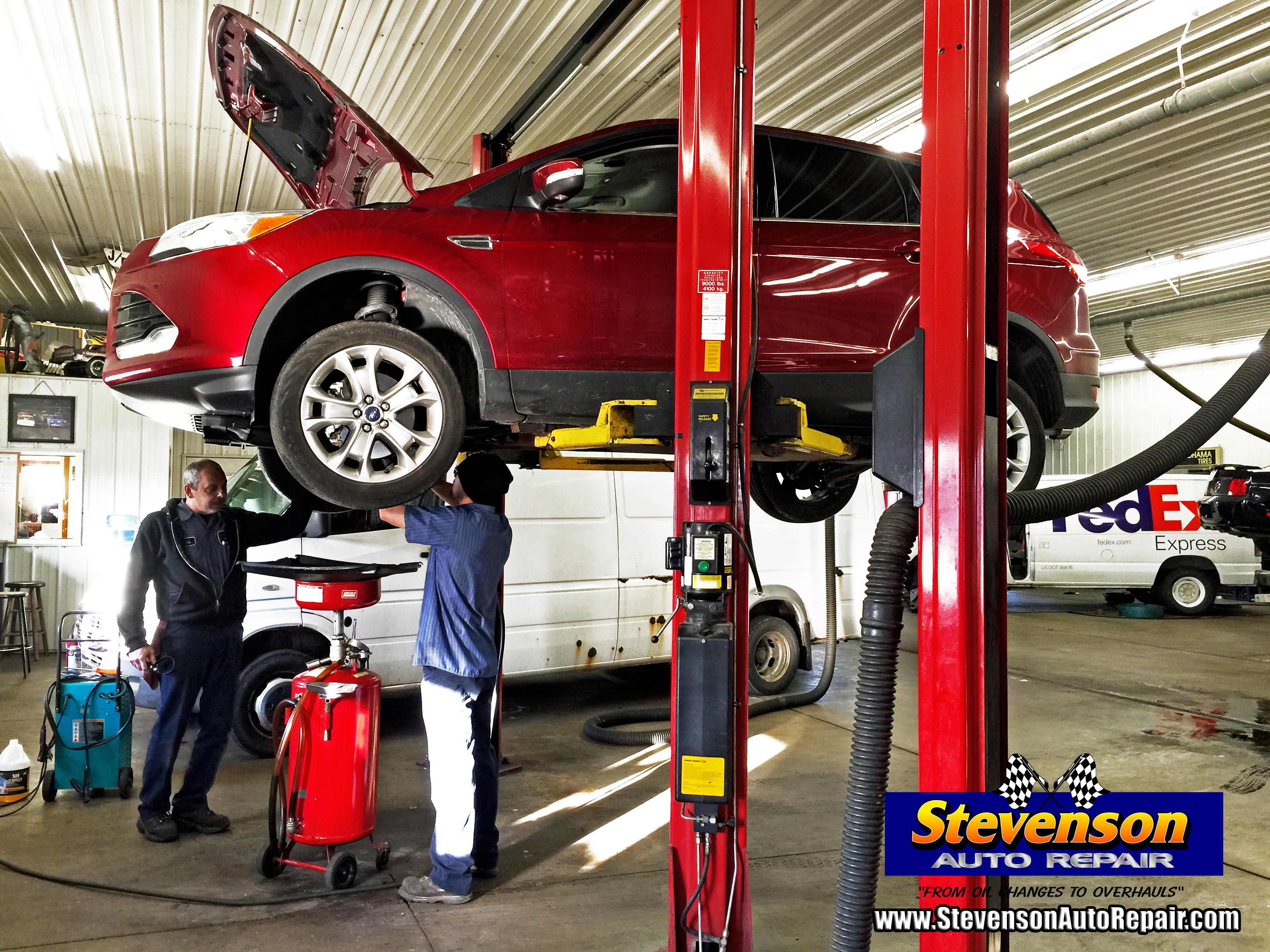 oil change auto repair shop in Kankakee IL Bourbonnais and Bradley