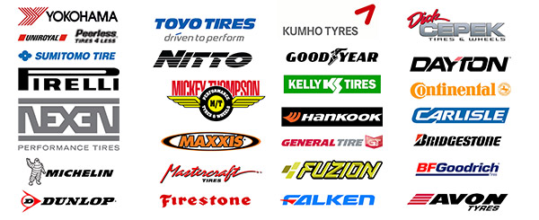 Tire Brands We Sell